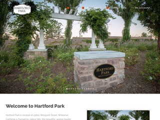 hartfordparkhoa.com - web developer
